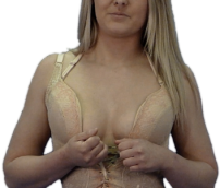 Magic Cleavage bra before picture